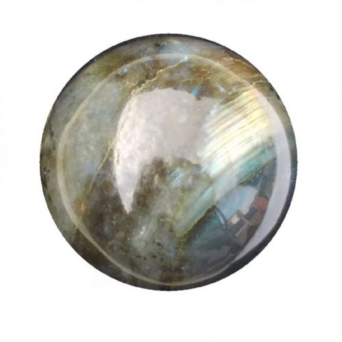 Labradorite Crystal Ball Scrying Divination Fortune Telling Sphere 52mm 200g LA14